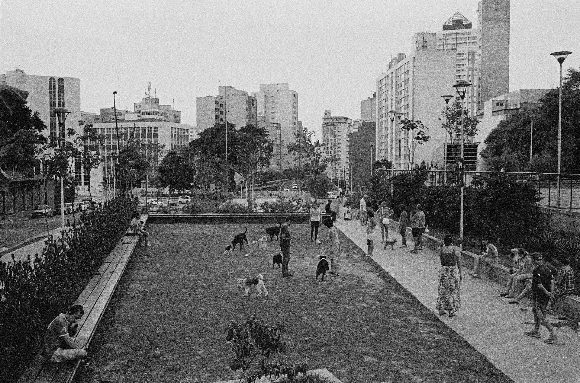 São Paulo – Praça Roosevelt #2, 2014. Fotografia de Mauro Restiffe
