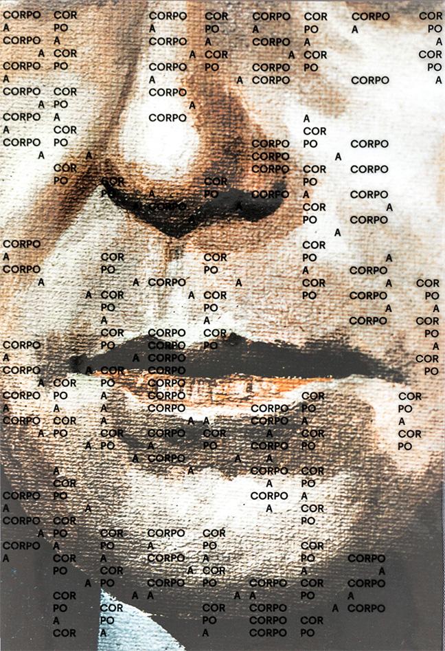 """Capa do catálogo da exposição """"Corpo a corpo"""""""