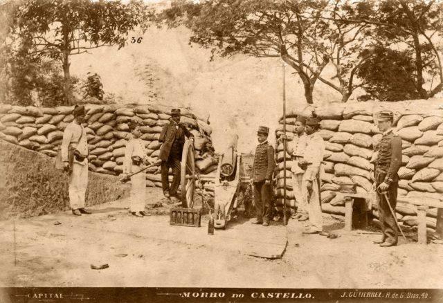 Morro do Castelo, c.1893 (Juan Gutierrez/Acervo IMS)