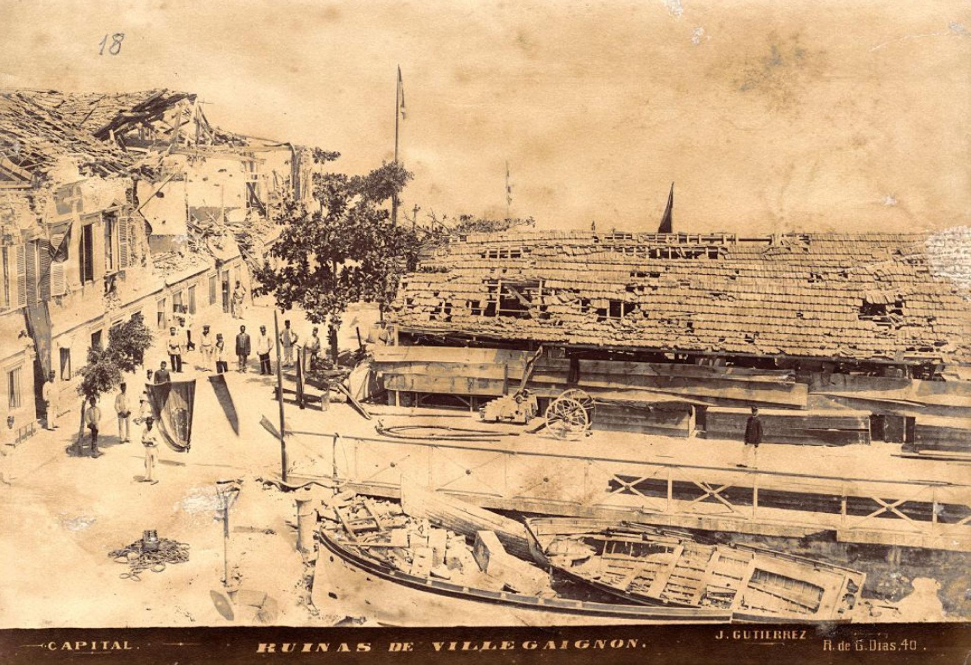 Ruínas de Villegaignon, c. 1893 (Juan Gutierrez/Acervo IMS)