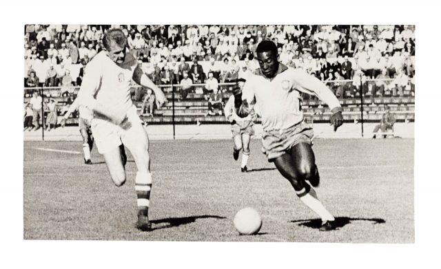 Pelé contra a Tchecoslováquia, 0 x 0 (Arquivo Diários Associados/Acervo IMS)