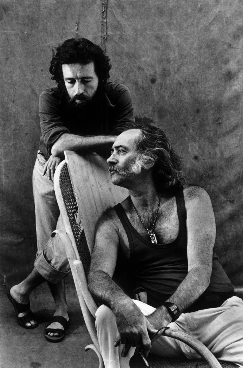 Mario Cravo Neto e Mario Cravo Júnior, 1981. Foto de Madalena Schwartz/ Acervo IMS