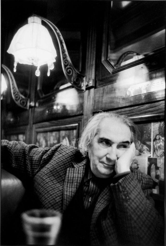 Mario Pedrosa.  Paris, 1976 © Foto Alécio de Andrade