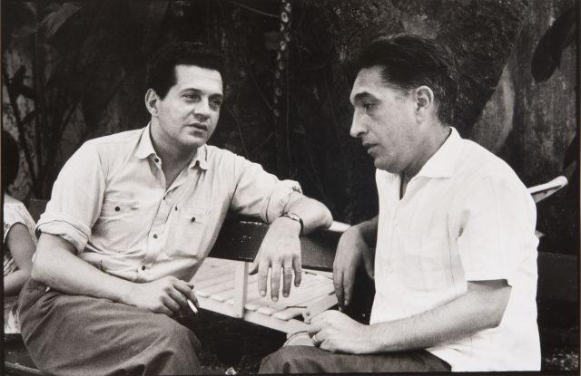 Hélio Pellegrino e Amílcar de Castro. Rio de Janeiro, 1964 © Alécio de Andrade