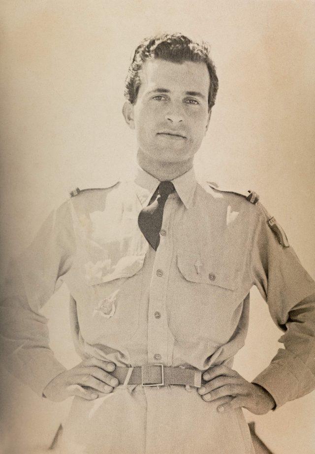 Henri Ballot durante a Segunda Guerra, como piloto da resistência francesa. Arquivo Henri Ballot / Acervo IMS
