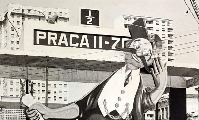 """Alegoria """"Praça 11-Zoo"""" no Carnaval de 1951 (Arquivo Diários Associados-RJ/Acervo IMS)"""