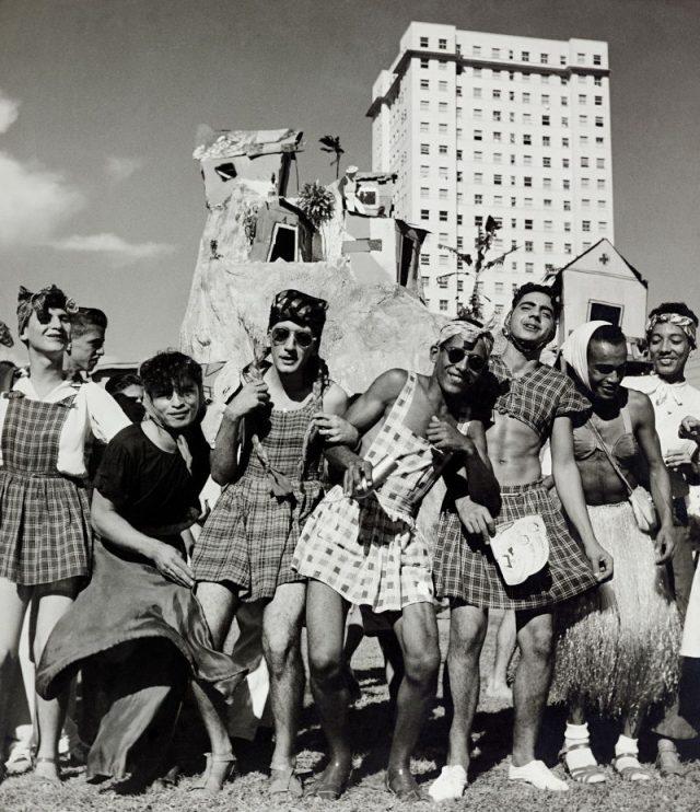 Carnaval de 1952 (Jean Manzon, Arquivo Diários Associados-RJ/Acervo IMS)