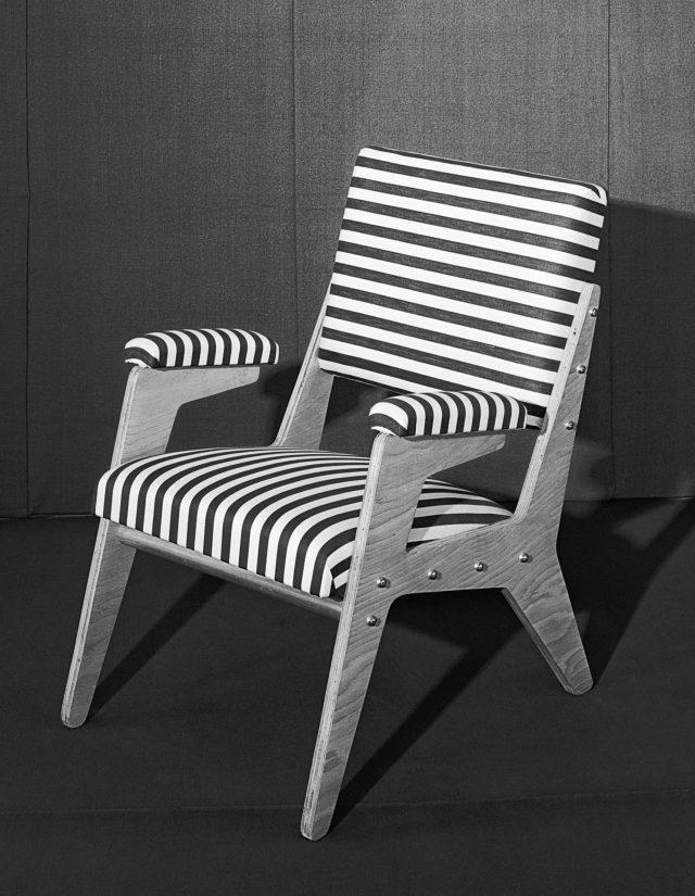 Cadeira da Móveis Artísticos Z, SP, 1950. Foto de Hans Gunter Flieg / Acervo IMS