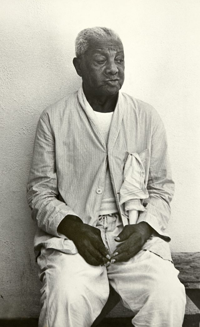 João da Baiana no Retiro dos Artistas, em agosto de 1972. Arquivo Diários Associados-RJ/Acervo IMS
