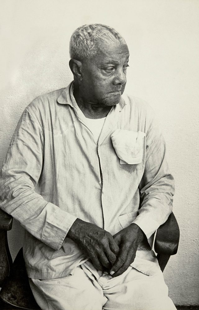 João da Baiana no Retiro dos Artistas, em outubro de 1972. Arquivo Diários Associados-RJ/Acervo IMS