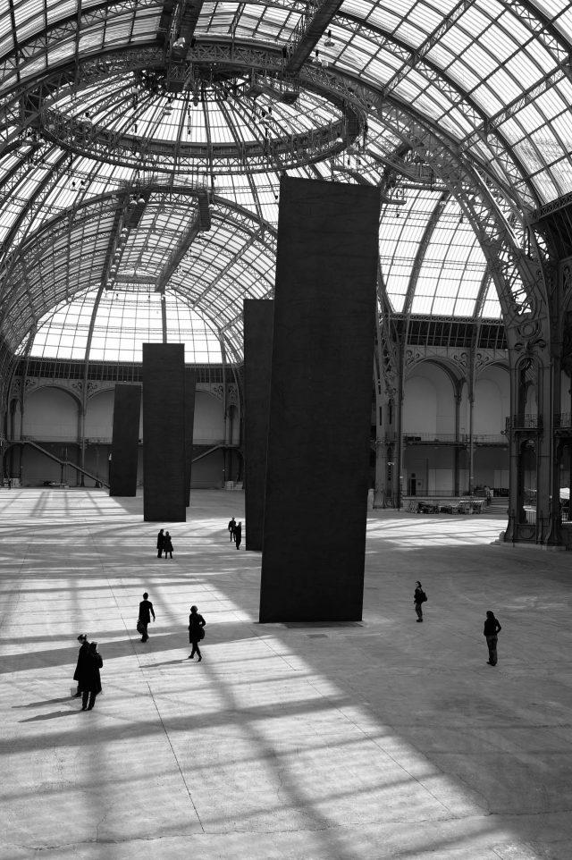 Promenade, 2008. Grand Palais, Paris. Obra de Richard Serra. Foto de Lorenz Kienzle