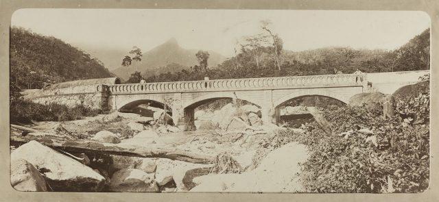Obras de abastecimento de água. Rio de Janeiro, c. 1880. Foto de Marc Ferrez. Coleção Gilberto Ferrez / Acervo IMS