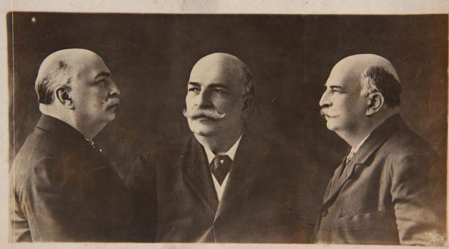 Retratos do Barão do Rio Branco, Rio de Janeiro, c. 1902. Fotografia de Augusto Malta / Acervo IHGB