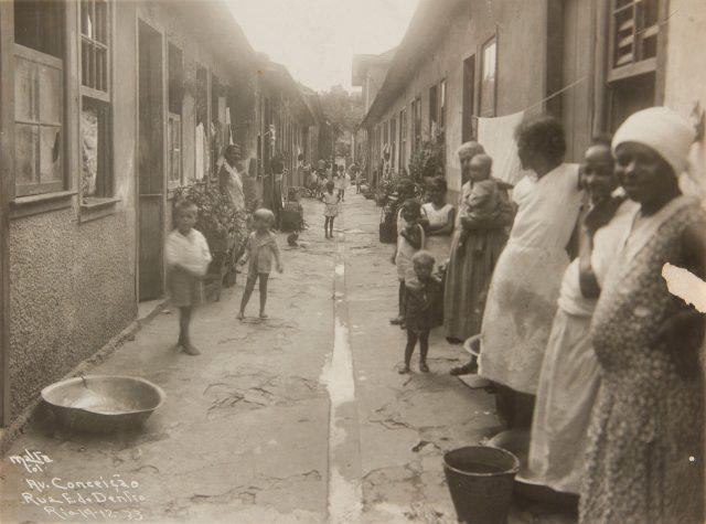 Av. Conceição em Engenho de Dentro. Rio de Janeiro, 1933. Fotografia de Augusto Malta / Acervo IHGB