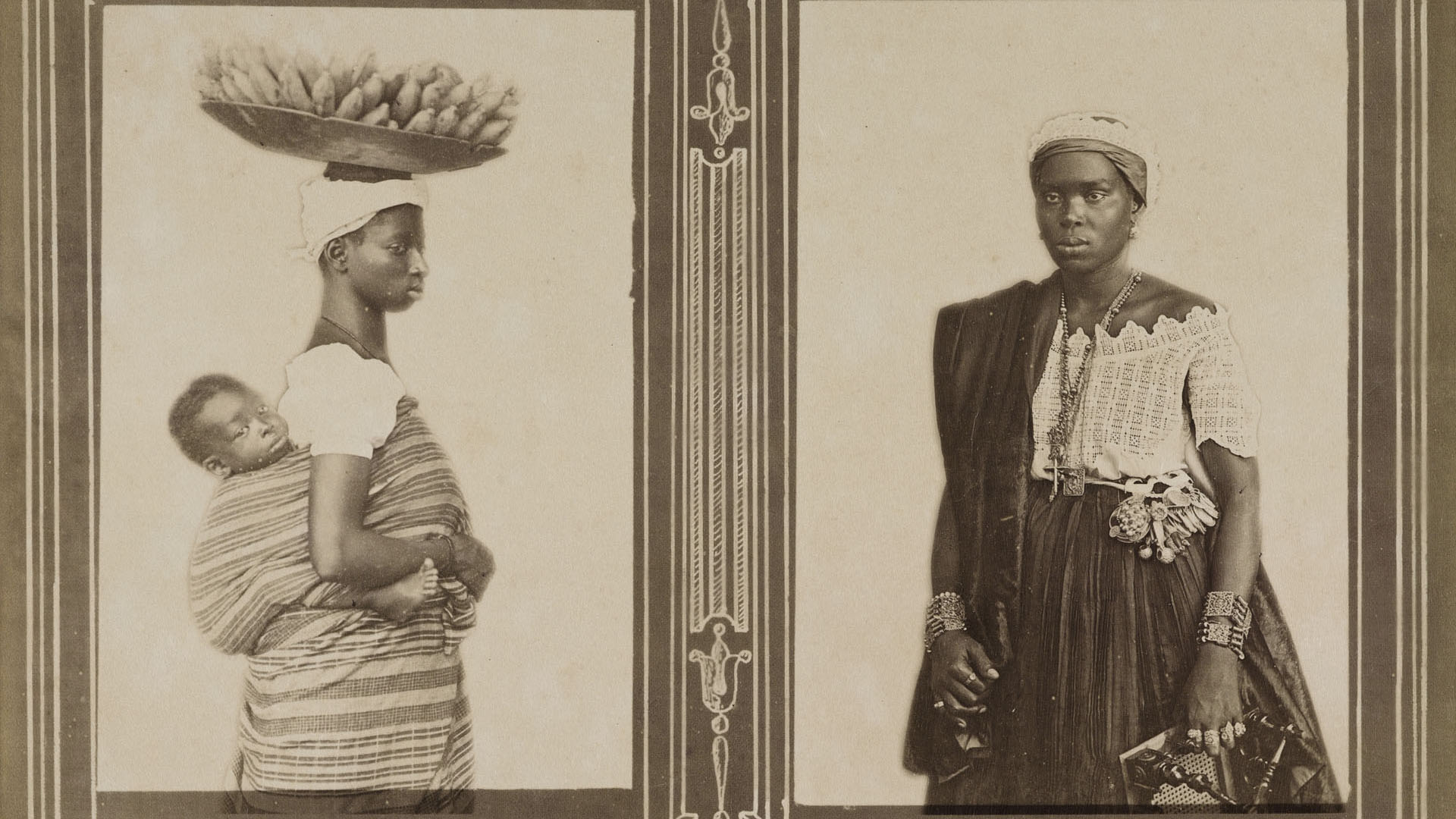 Negras da Bahia. Bahia, c. 1885. Foto de Marc Ferrez. Coleção Gilberto Ferrez / Acervo IMS