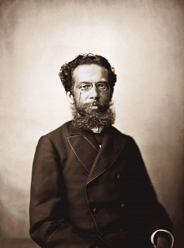 Machado de Assis. Rio de Janeiro, c. 1880. Foto de Joaquim Insley Pacheco. Coleção Gilberto Ferrez/ Acervo IMS