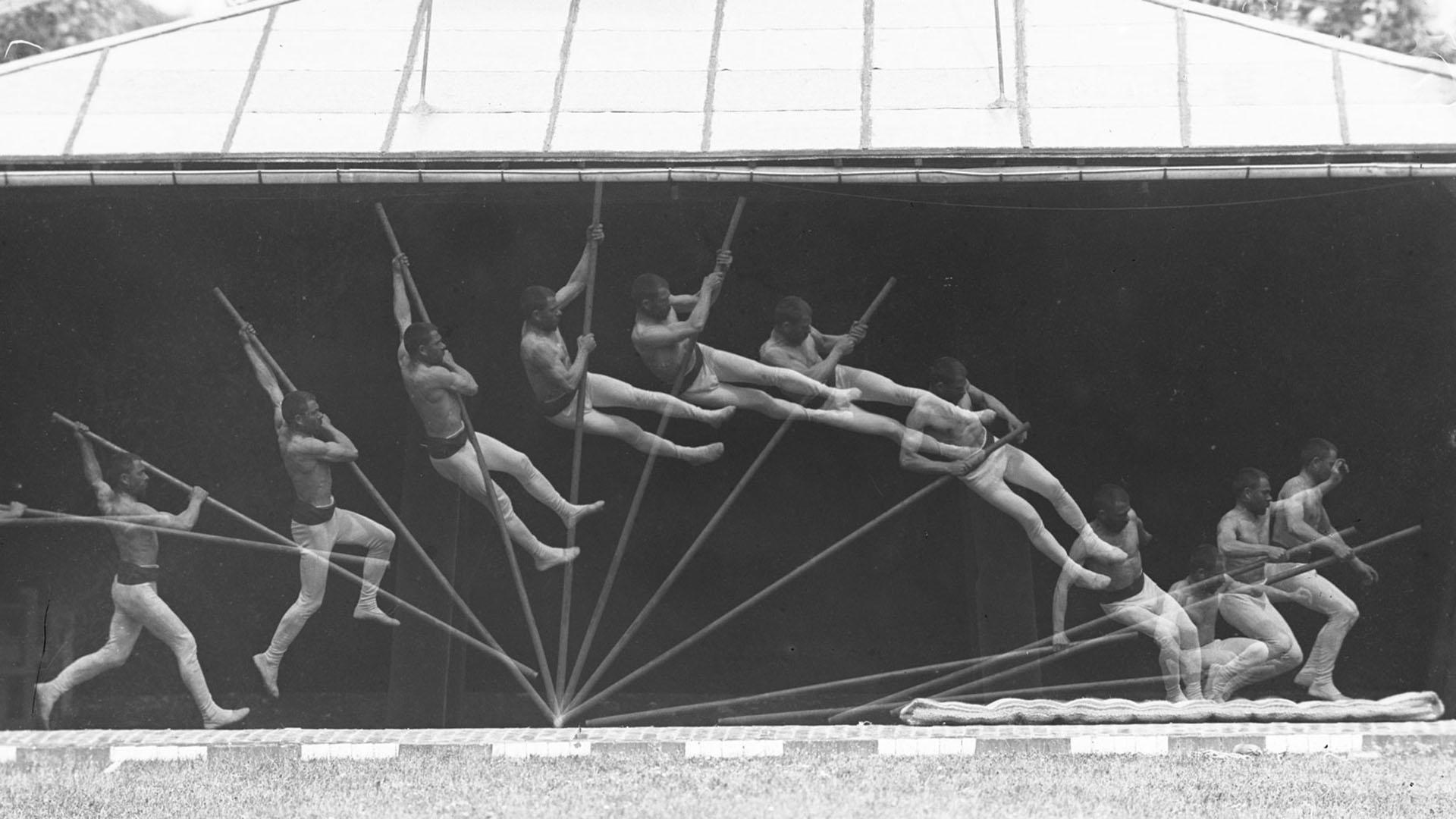 Locomoção humana IIIB, cronofotografia, 1886. ©️ Étienne-Jules Marey/ Collège de France.