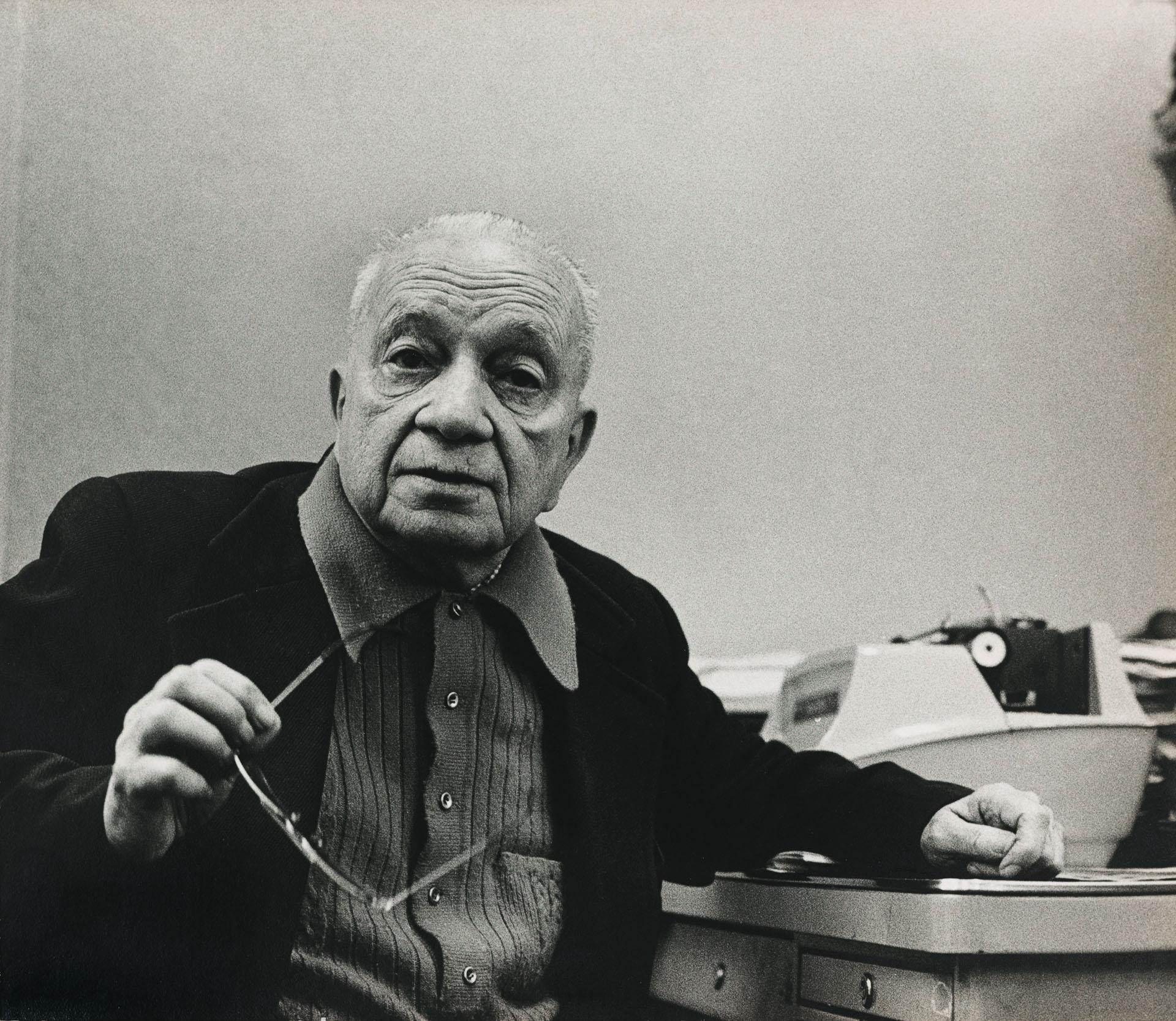 O escritor Mario Quintana