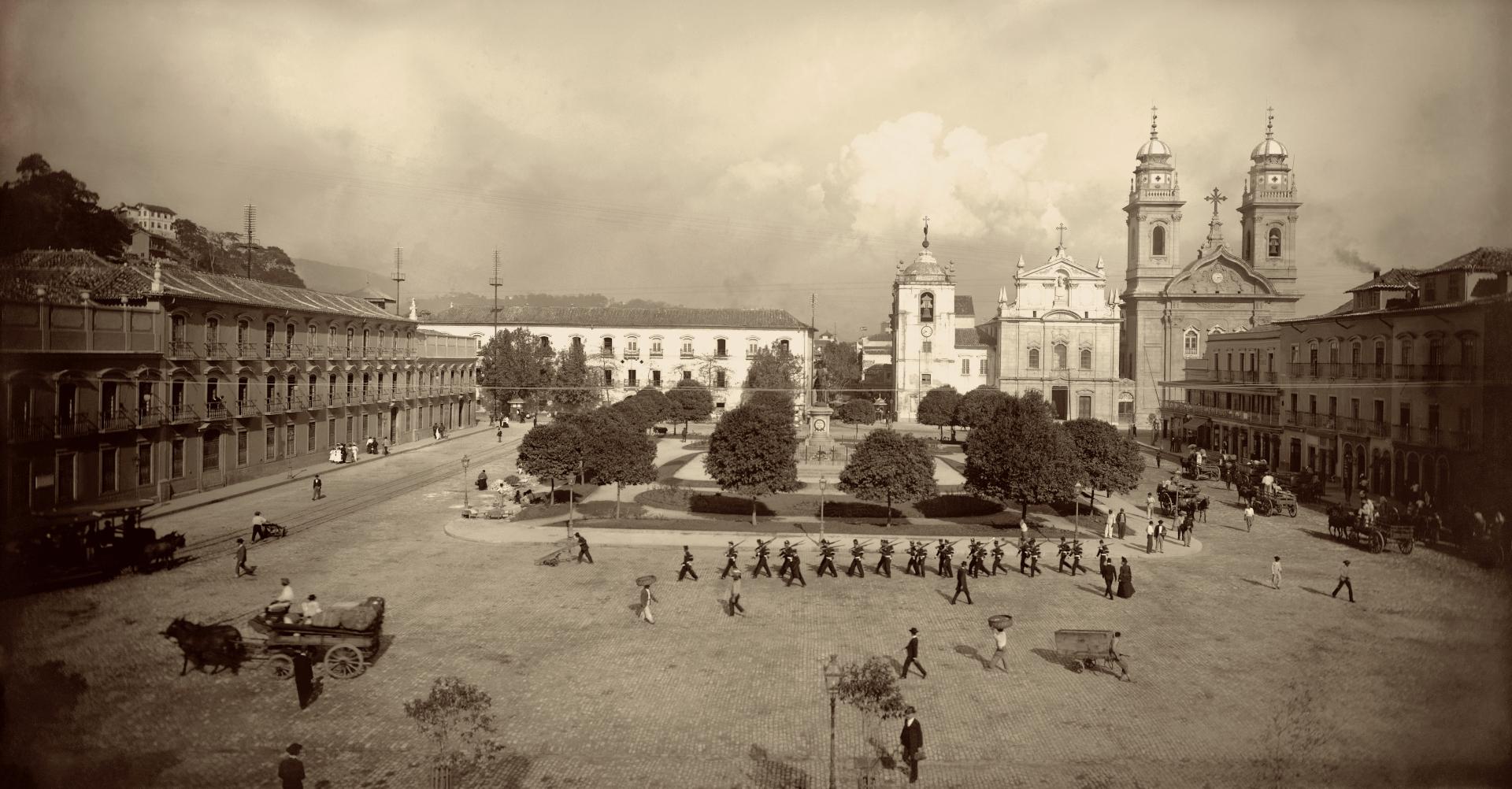 Marc Ferrez, Praça XV de Novembro, circa 1903. Coleção Gilberto Ferrez, Instituto Moreira Salles.