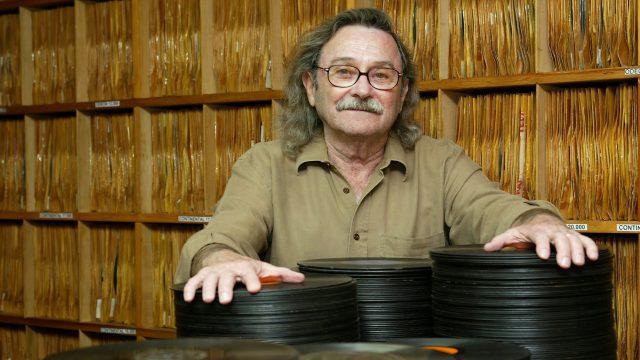 O colecionador Leon Barg (1930-2009) construiu seu acervo em Curitiba a partir dos anos 1950: seus 31.265 discos foram adquiridos pelo IMS em 2019. Foto de Júlio César Souza