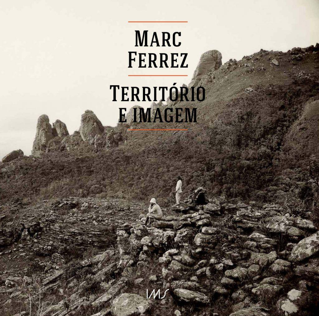 Capa do catálogo Marc Ferrez: território e imagem