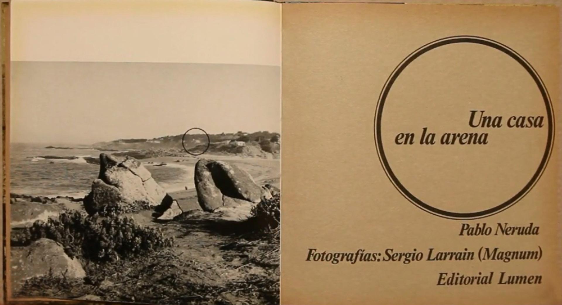 Detalhe do livro Una casa en la arena (1966), da Coleção Palabra e Imagen, da editorial Lumen (Barcelona)