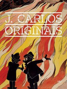 Capa do catálogo da exposição <em>J. Carlos - Originais</em>