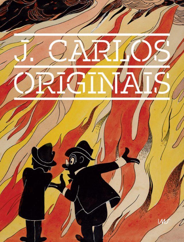 Capa do catálogo da exposição J. Carlos - Originais