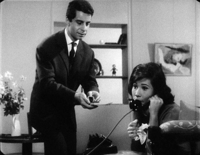Cena de <em>Le Téléphone</em> (1959. 6 min.), de Eduardo Coutinho