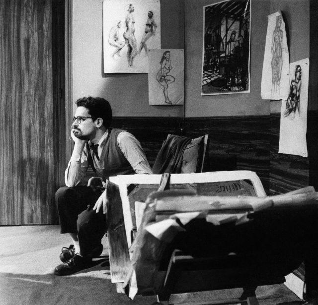 Eduardo Coutinho no Institut des Hautes Études Cinématographiques (Idhec). Paris, 1959