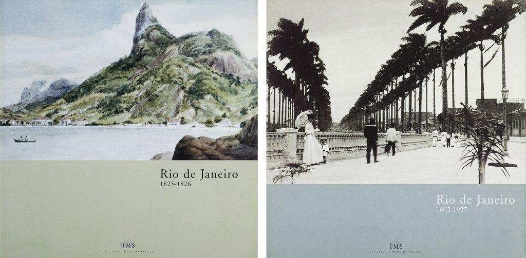 Cartazes da exposição <em>Rio de Janeiro - 1825-1927</em>, que abriu o IMS Rio, em 1999 / Acervo IMS