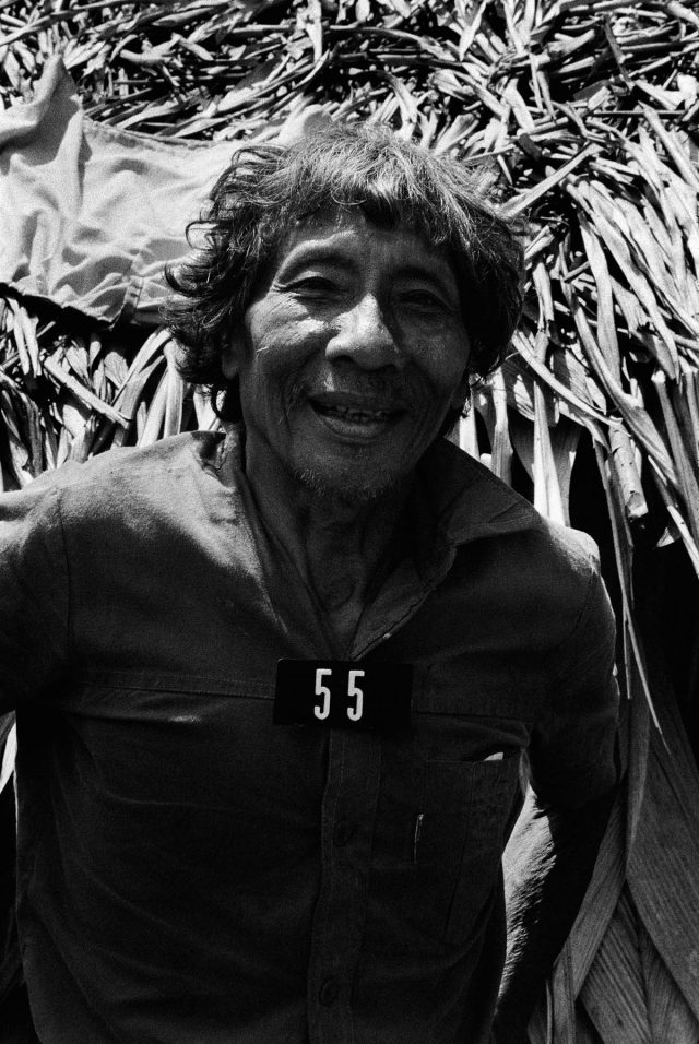 """Mucajaí, Roraima, 1983. Foto de Claudia Andujar da série """"Marcados"""",  que integra a exposição """"Claudia Andujar: A luta Yanomami"""""""