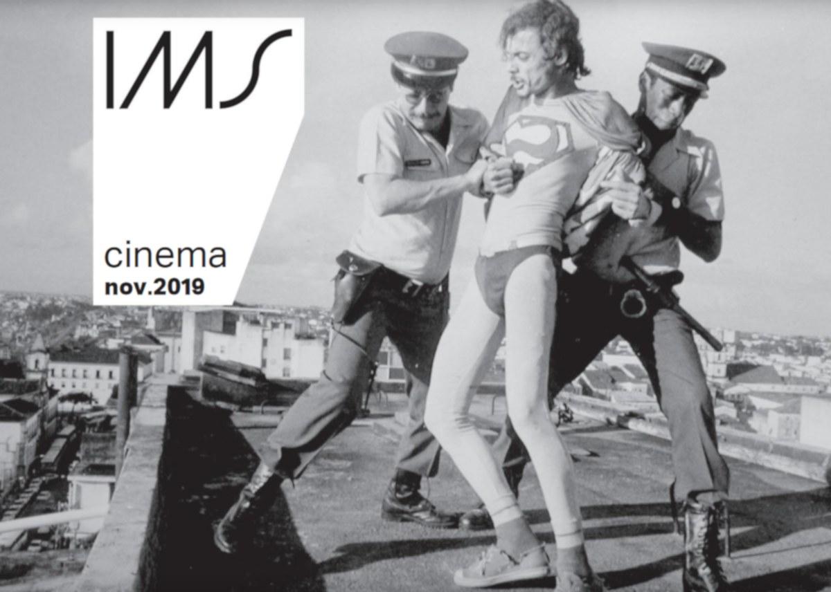 Capa da revista de programação do Cinema do IMS Paulista, novembro de 2019