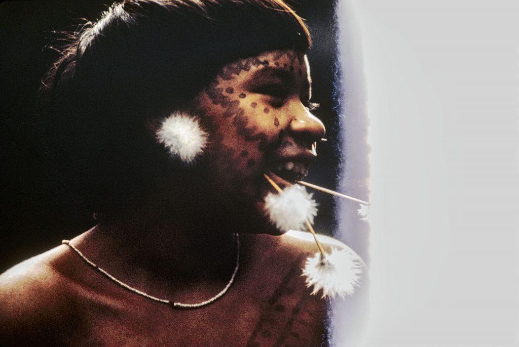 Rita Korihana thëri, Catrimani, 1971-1972. Foto de Claudia Andujar