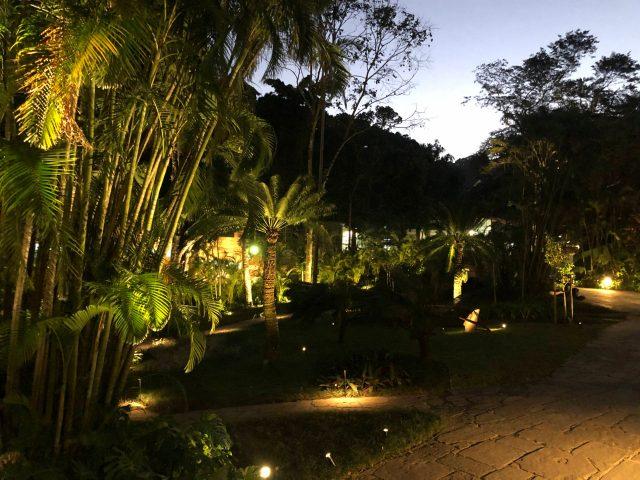 Jardim do IMS Rio na inauguração da nova iluminação, 1/10/2019