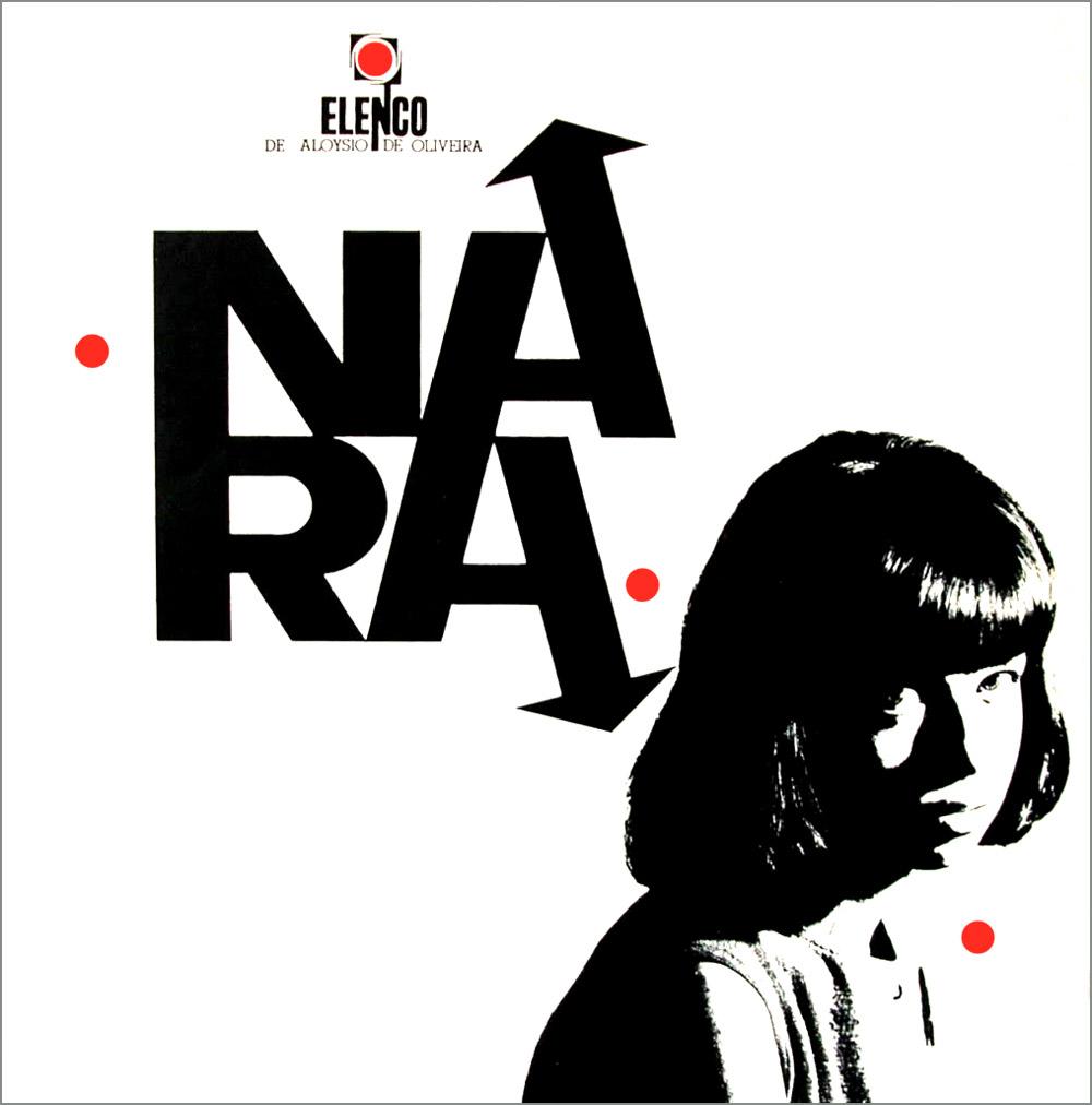 Capa de Nara (1964), primeiro disco da cantora Nara Leão