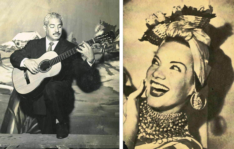 Dorival Caymmi e Carmen Miranda