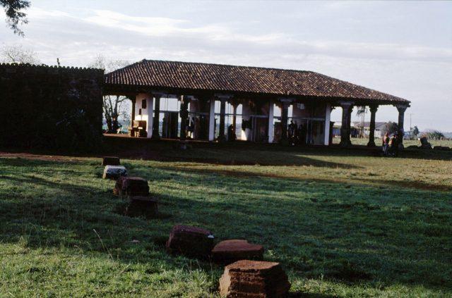 Museu das Missões, projetado por Lúcio Costa e inaugurado no fim da década de 1930. São Miguel das Missões, RS. Coleção Augusto Silva Telles/ IMS.