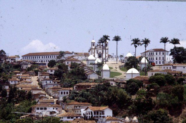 Santuário do Bom Jesus de Matosinhos, Congonhas, antiga Congonhas do Campo, MG. Coleção Augusto Silva Telles/ IMS.
