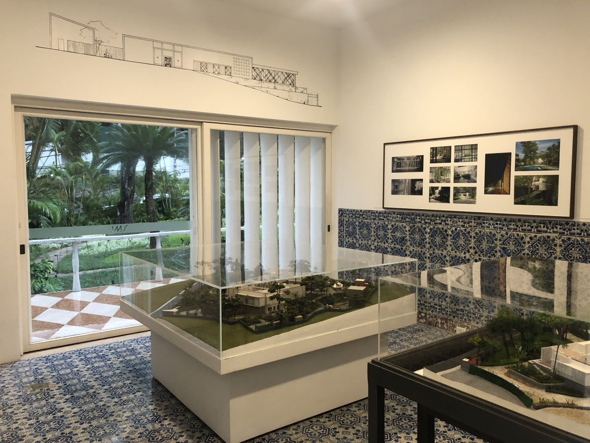 sala de azulejos
